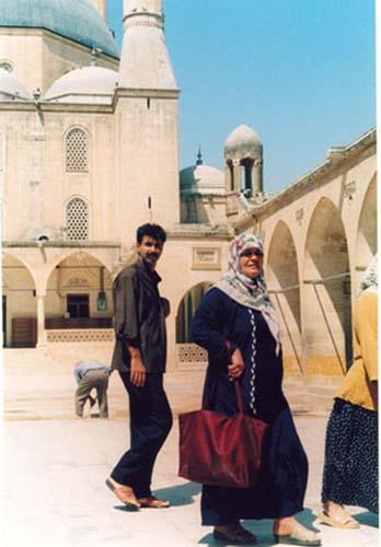 Zdjęcia: Sanliurfa, Sanliurfa - dziedziniec starego meczetu, TURCJA