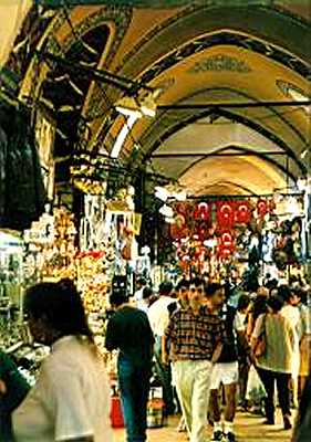 Zdjęcia: Istambul, Kryty bazar w Istambule, TURCJA