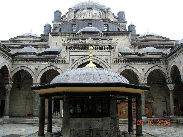 Zdjęcia: Stambuł, Turcja, meczet Beyazita, TURCJA