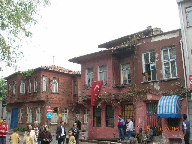 Zdjęcia: Stambuł, Turcja, uliczka starego Stambułu, TURCJA