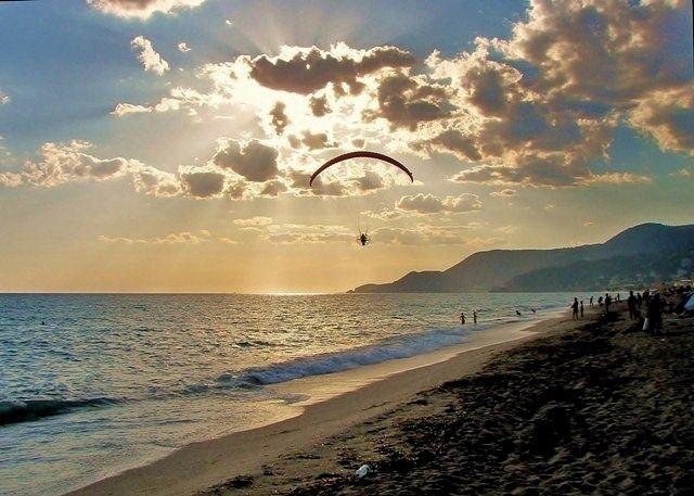 Zdjęcia: wybrzeże, Alanya, Lot w chmurach, TURCJA