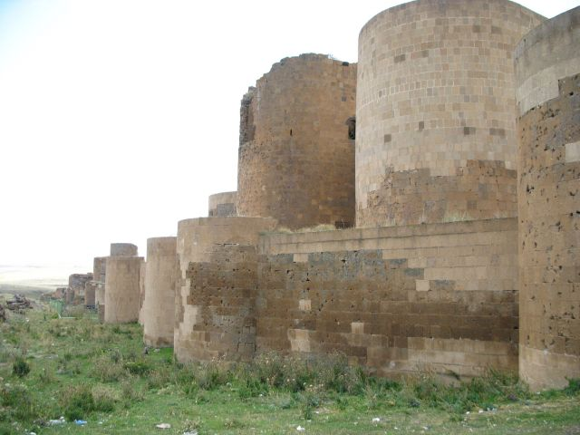 Zdjęcia: Ani, wschodnia Anatolia,granica z Armenią, tysiącletnie mury, TURCJA