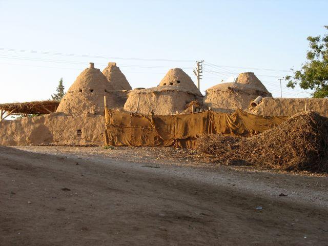 Zdjęcia: Harran, Mezopotamia, co za domki, TURCJA