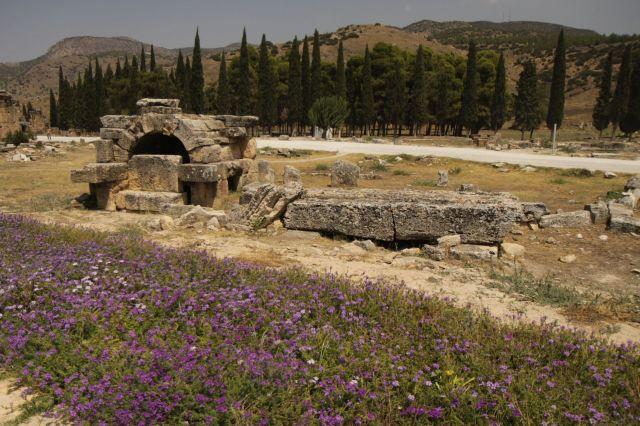 Zdjęcia: Hierapolis, płd-zach Turcja, Hierapolis, TURCJA