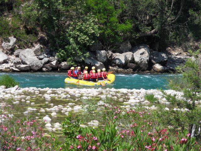 Zdjęcia: W górach, okolice Alani, Rafting, TURCJA