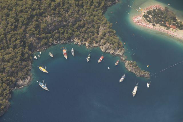 Zdjęcia: Oludeniz, płd-zachTurcja, Widok na zatokę, TURCJA
