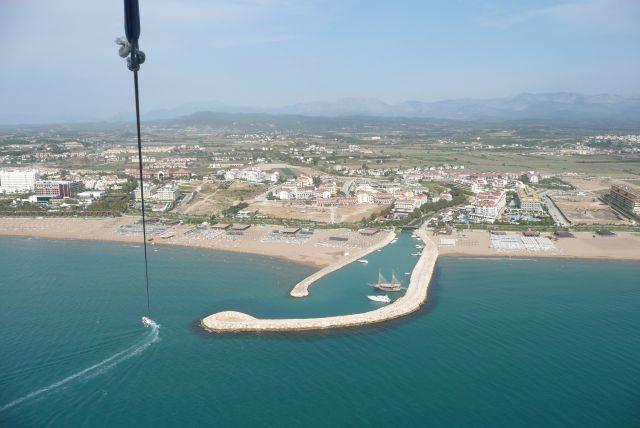 Zdjęcia: 300 metrów nad plażą, Antalia, Krajobraz na uwięzi, TURCJA