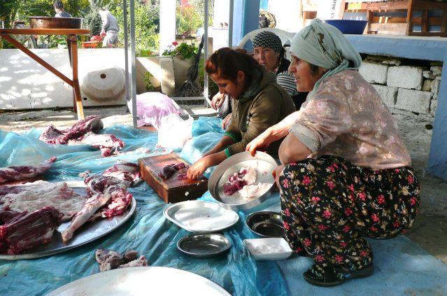 Zdjęcia: Coklaki, Antalia, Kurban Bajram - święto ofiarowania 2, TURCJA