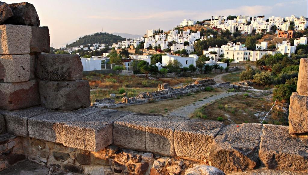 Zdjęcia: Bodrum, Azja mniejsza,  Tureckie Santorini., TURCJA