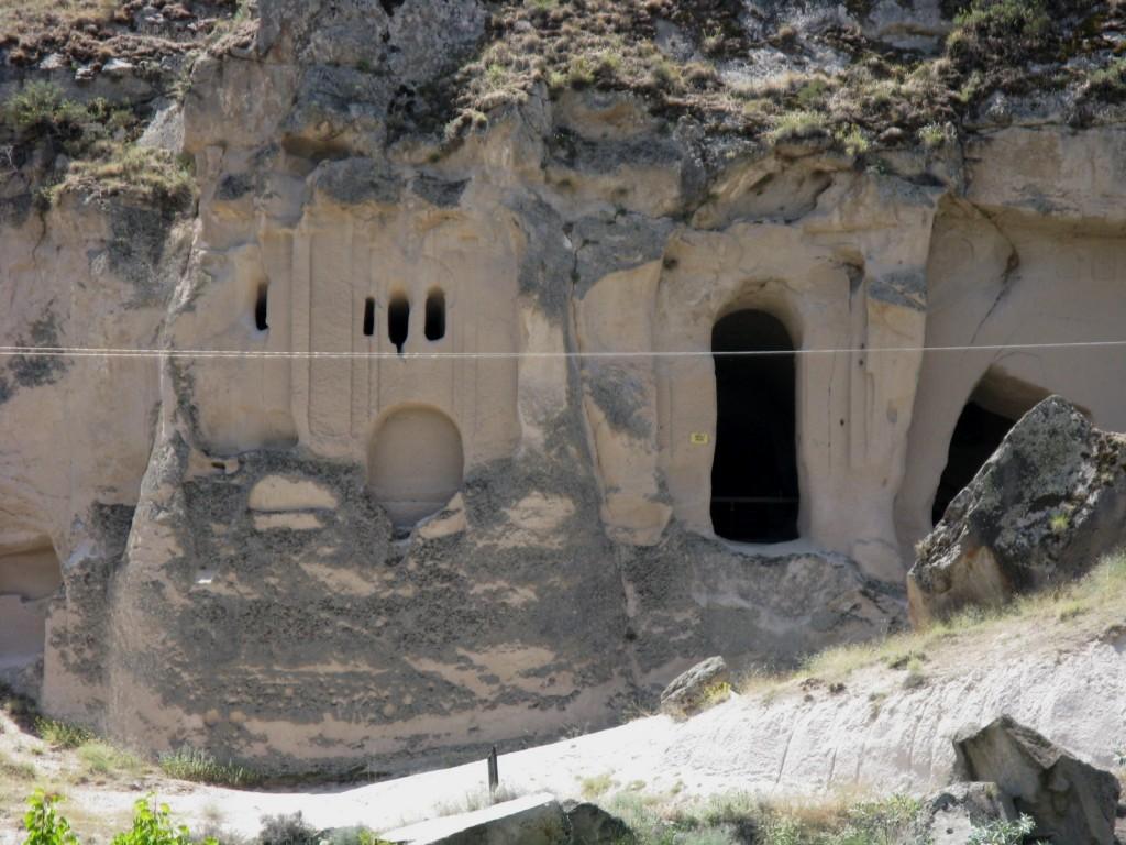 Zdjęcia: dolina Goreme, Skalne kościoły 1, TURCJA