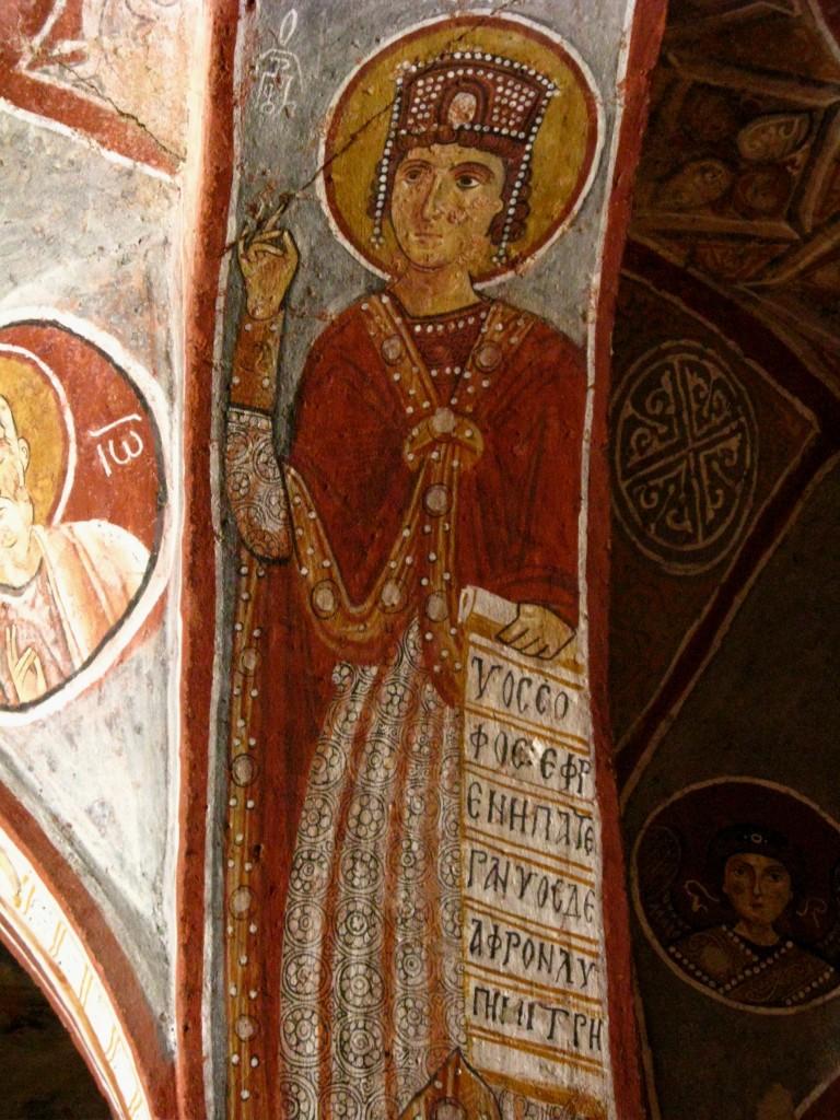 Zdjęcia: dolina Goreme, Skalne kościoły 3, TURCJA