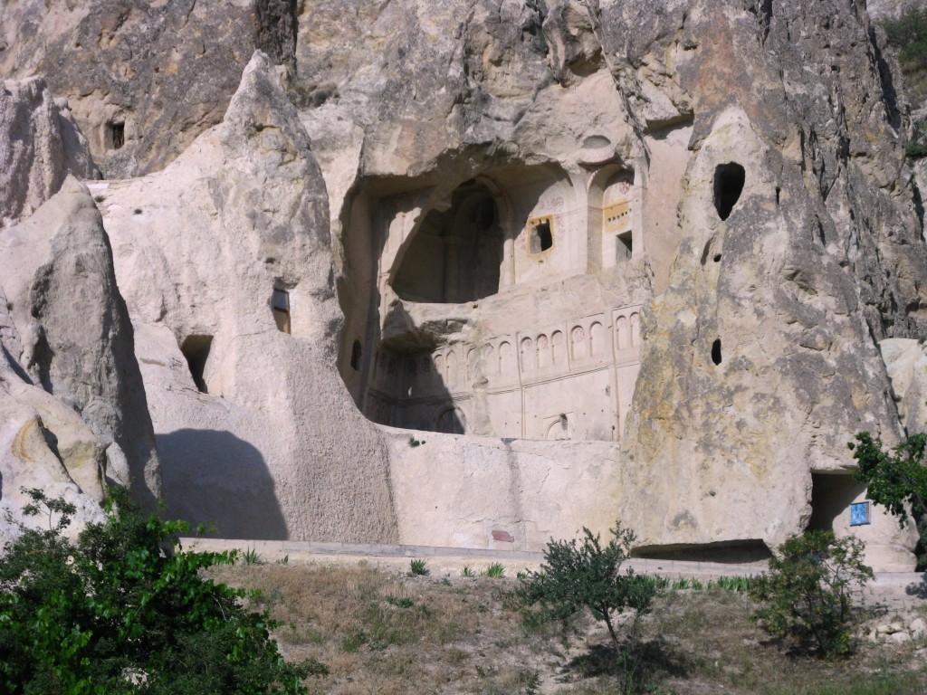 Zdjęcia: dolina Goreme, Skalne kościoły 4, TURCJA