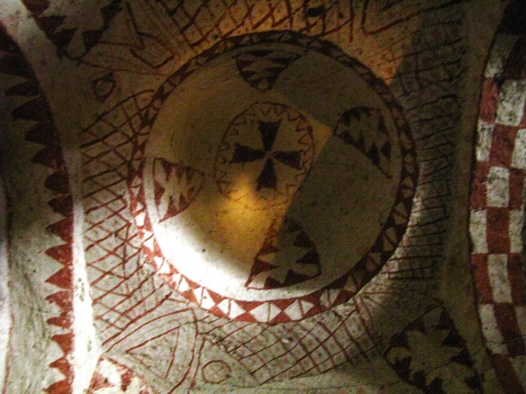 Zdjęcia: dolina Goreme, Kaplica z okresu obrazoburstwa - VIII w. - 3, TURCJA