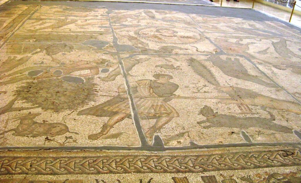 Zdjęcia: Antakya - historyczna Antiochia, muzeum mozaik 1, TURCJA