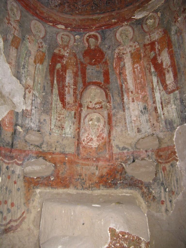 Zdjęcia: Goreme, Z kapadockiej kaplicy 5, TURCJA