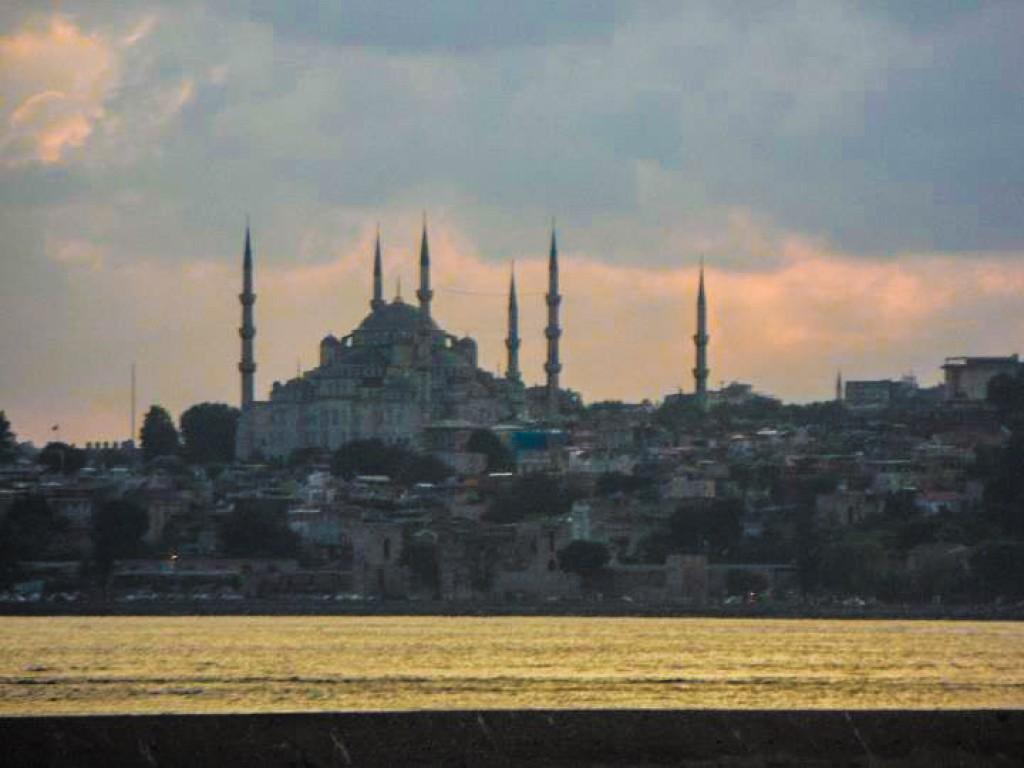 Zdjęcia: Istambuł, Istambuł, Widok z azjatyckiego Istambułu, TURCJA