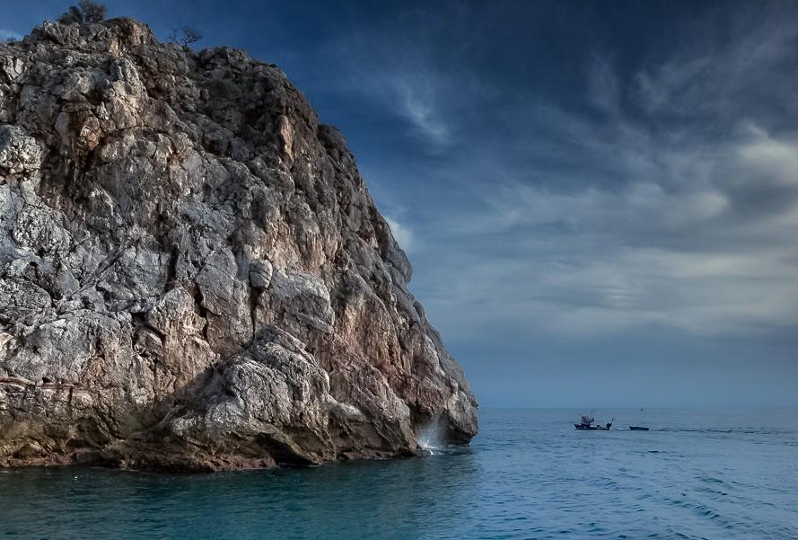 Zdjęcia: Alanya, riwiera turecka, skała, TURCJA