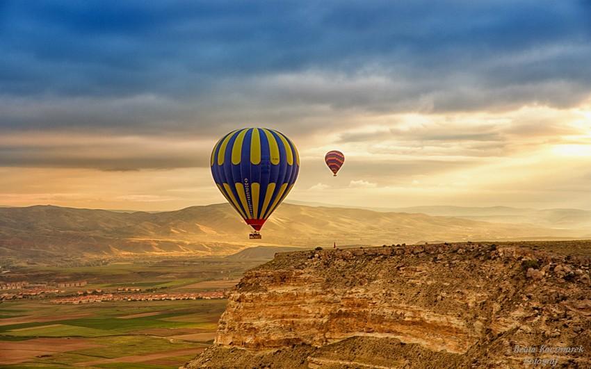 Zdjęcia: Kapadocja, Kapadocja, Balony nad Kapadocją, TURCJA