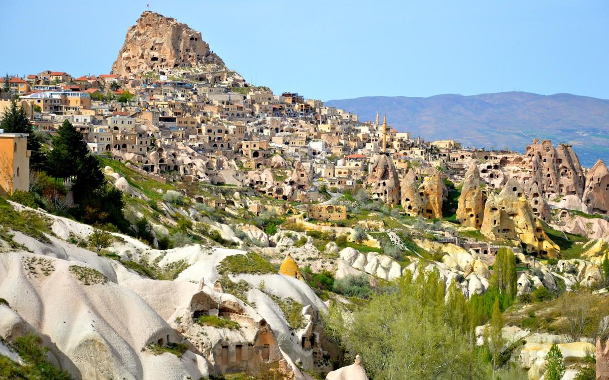 Zdjęcia: Kapadocja, W dolinie Kapadocji, TURCJA