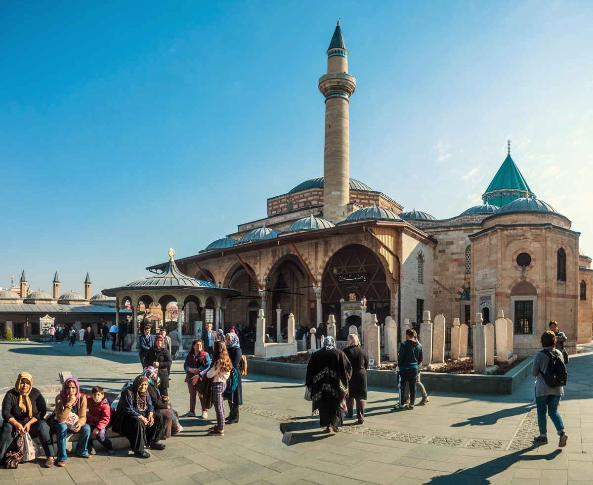 Zdjęcia: Konya, Anatolia, klasztor wirujących derwiszy, TURCJA