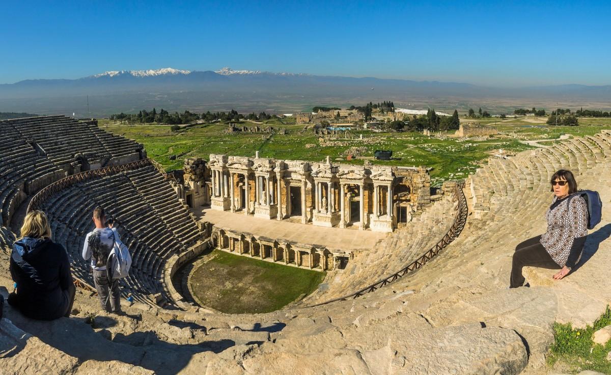 Zdjęcia: Hierapolis, Anatolia, Hierapolis, TURCJA