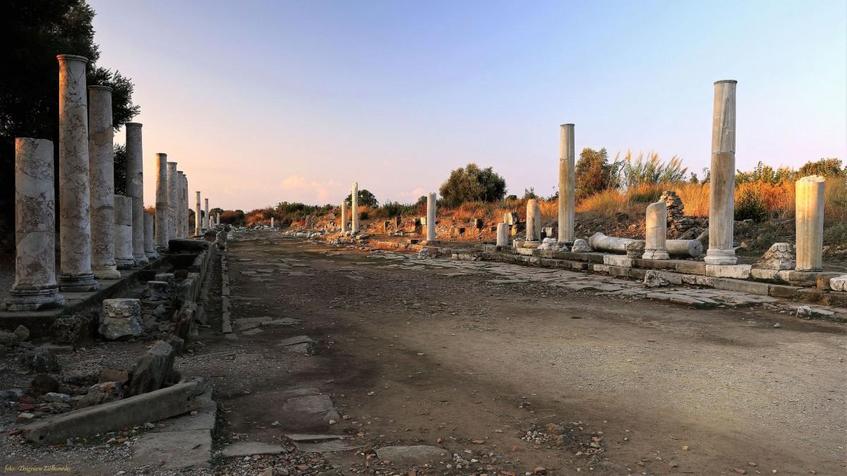 Zdjęcia: Side, południowa Turcja, Ruiny starego miasta, TURCJA