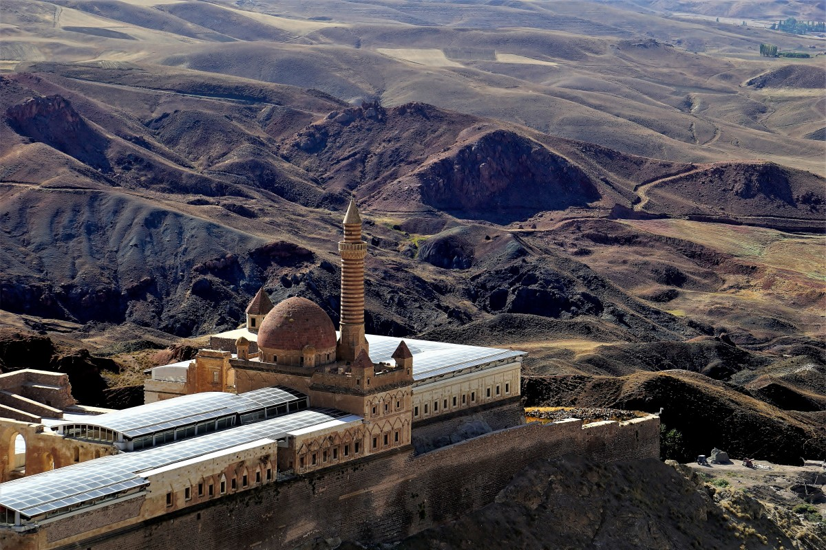 Zdjęcia: Dogubayazit, Kurdystan, Pałac Ishaka Paszy, TURCJA