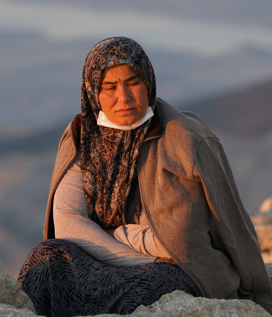 Zdjęcia: Nemrut, płd. Turcja, Kurdyjka, TURCJA