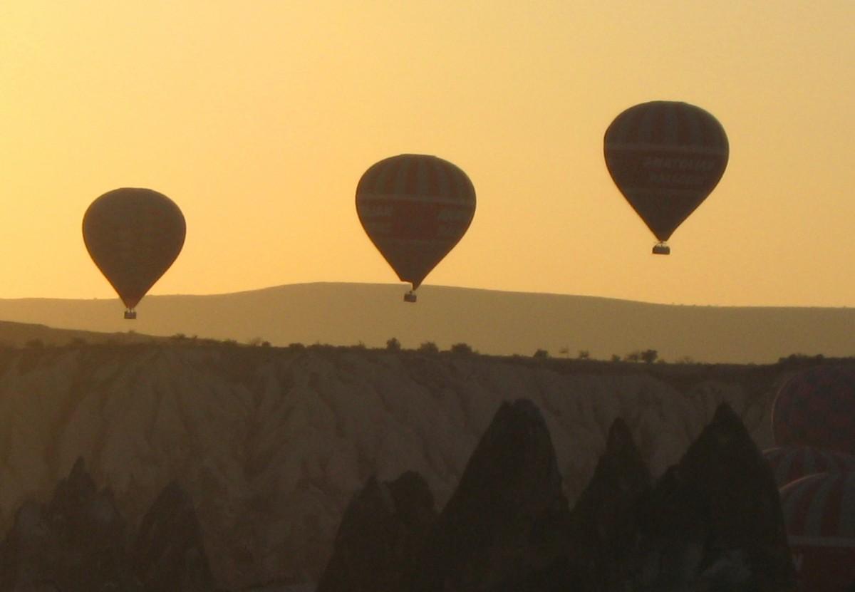 Zdjęcia: Goreme, Kapadocja, Balony nad Kapadocją, TURCJA