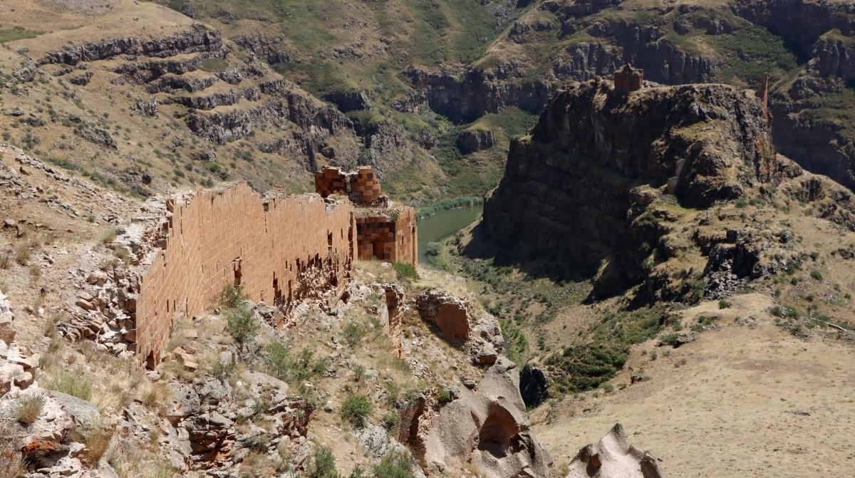 Zdjęcia: Ani, wschodnia Anatolia, Ruiny Ani, TURCJA