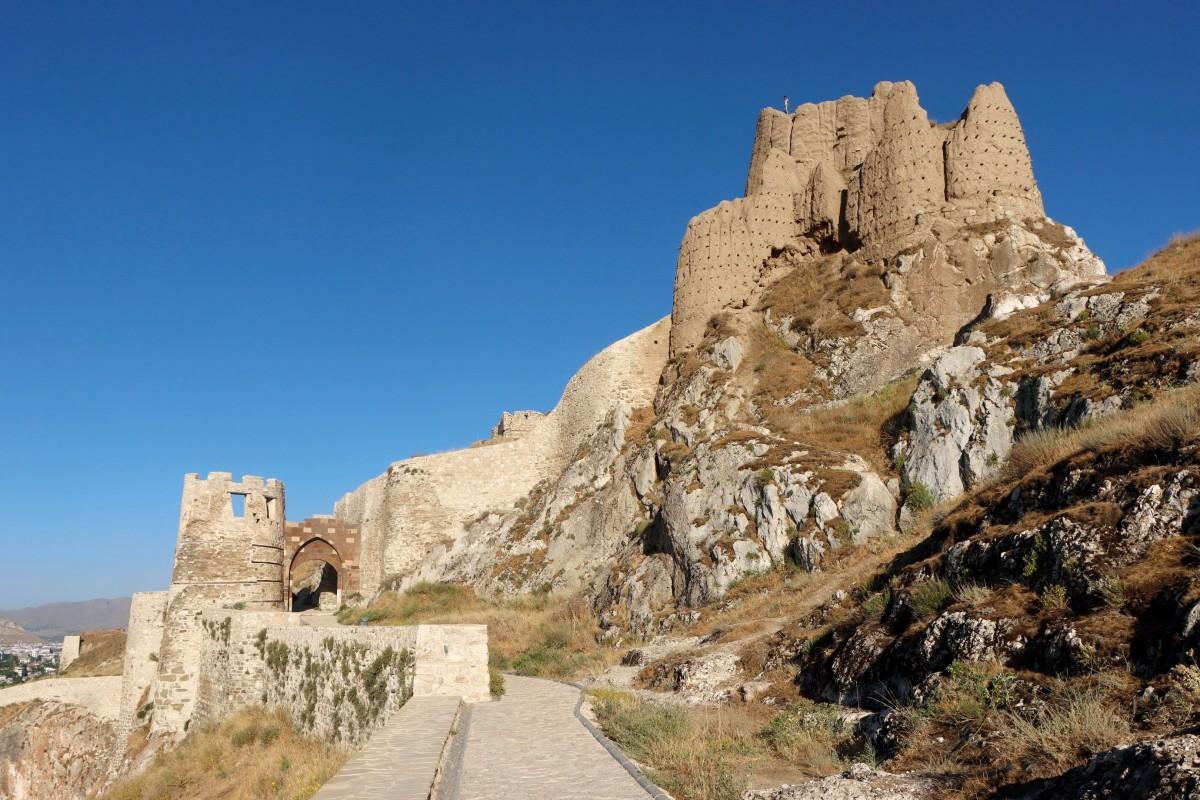 Zdjęcia: Wan, wschodnia Anatolia, Zamek w Wan, TURCJA