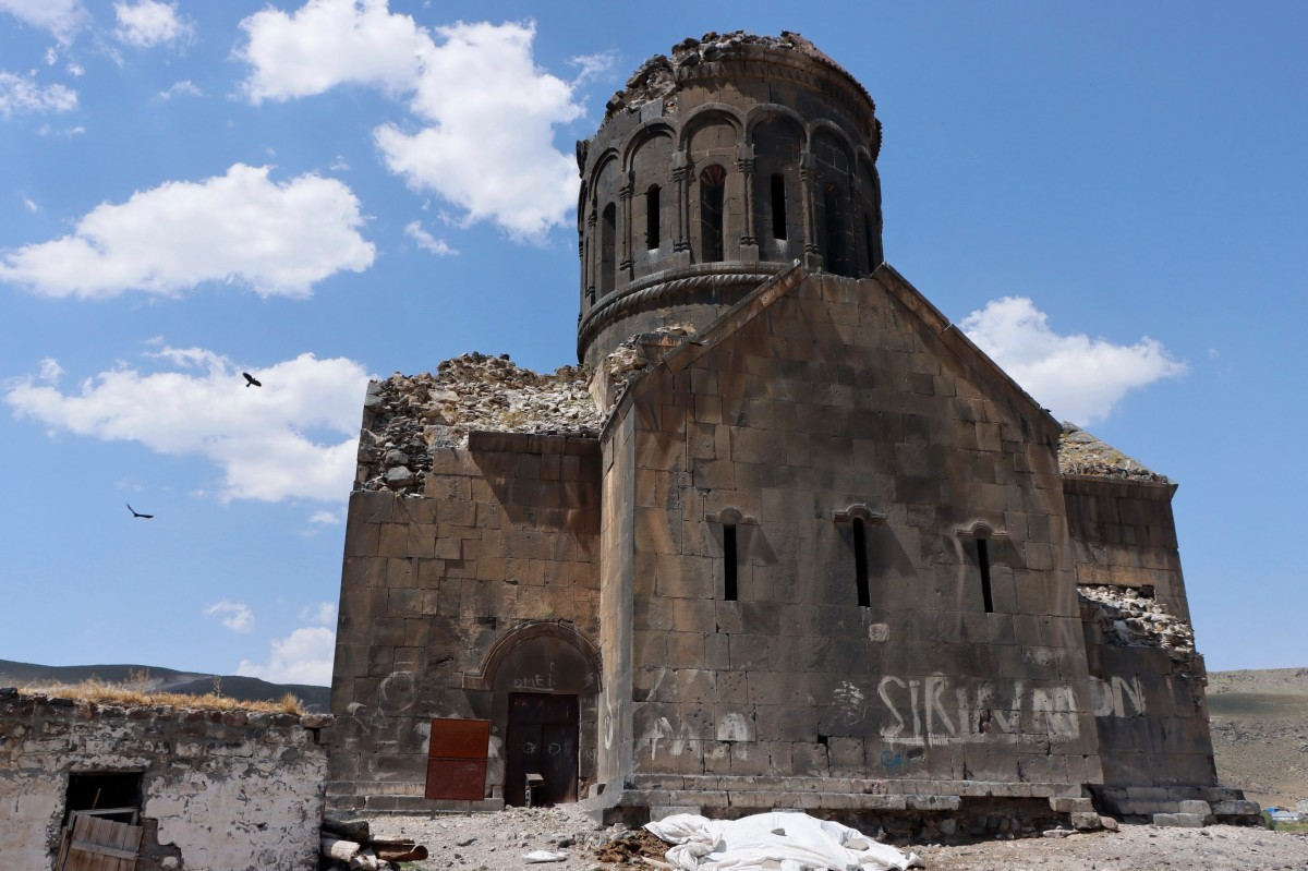 Zdjęcia: Cengilli, wschodnia Anatolia, Monaster Eghegnamor, TURCJA