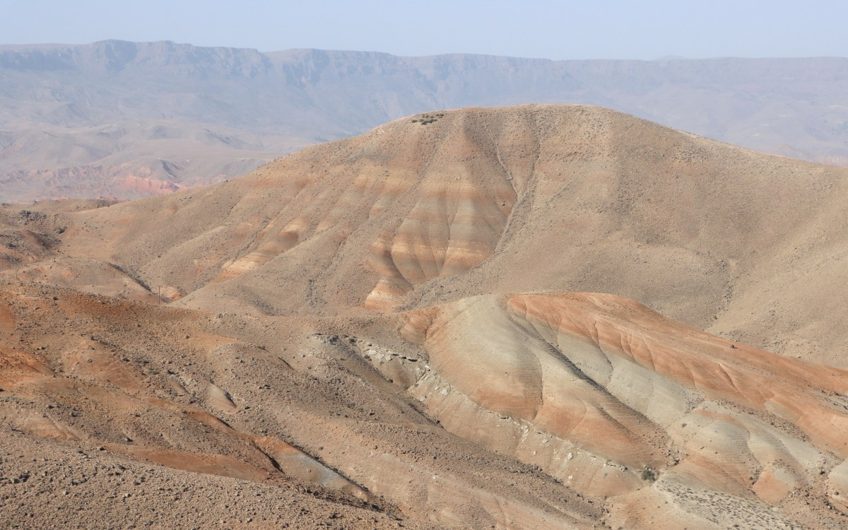 Zdjęcia: Kagizman, wschodnia Anatolia, Kolorowe pustkowie, TURCJA