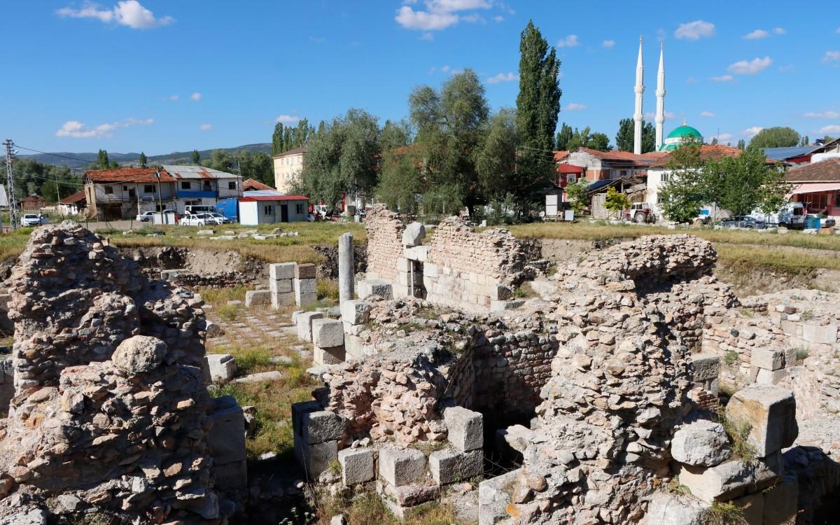 Zdjęcia: Sulusaray, środkowa Anatolia, Rzymskie ruiny Sebastopolis, TURCJA