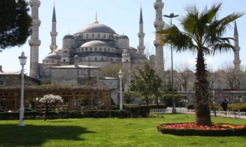 Zdjecie TURCJA / - / Istambul / Blue Mosque