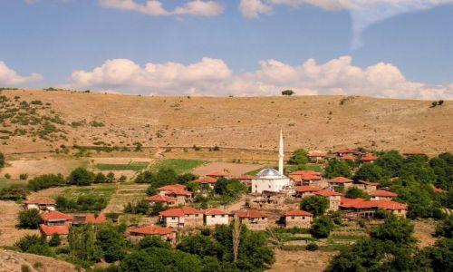 Zdjecie TURCJA / Turcja środkowa / Okolice Ankary / Minaret