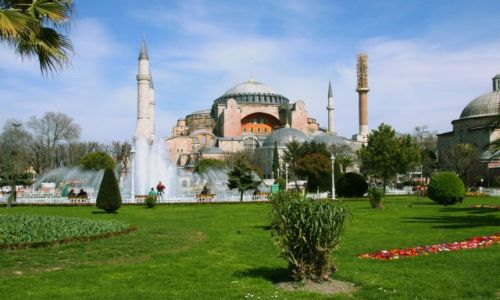 Zdjecie TURCJA / - / Istamul / Hagia Sophia