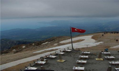 Zdjecie TURCJA / - / Góry Taurus, Tahtali / Widok ze szczytu Tahtali 2365m
