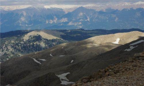 Zdjecie TURCJA / - / Góry Taurus, Tahtali / Widok ze szczyt