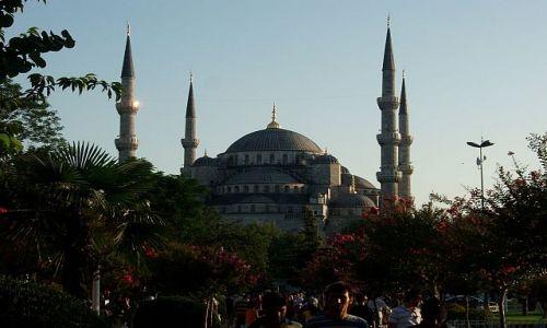 Zdjecie TURCJA / Stambul / Stambul / błekitny meczet