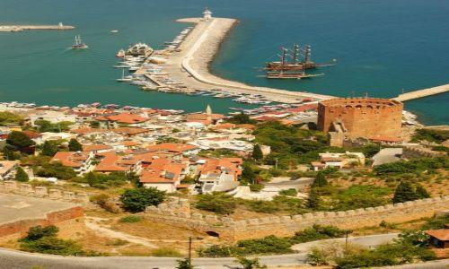 Zdjecie TURCJA / Alanya / Port / Kizilkule