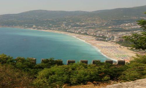 Zdjęcie TURCJA / Alanya / Twierdza / Widok na plażę Kleopatry
