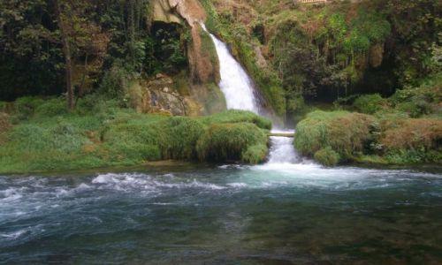 Zdjęcie TURCJA / - / Antalya / Wodospad- rezerwat Kursunlu