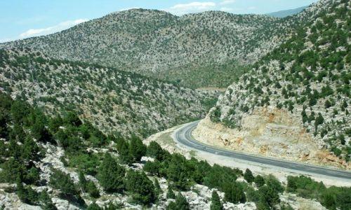 TURCJA / - / Góry Taurus Zachodni / Droga z Manavgatu do Konya