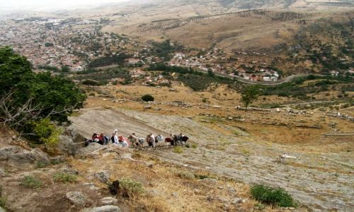 Zdjecie TURCJA / Bergama / Pergamon / Teatr Grecki