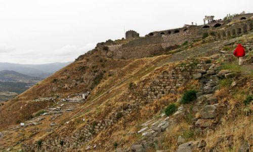 Zdjęcie TURCJA / Bergama / Pergamon / Akropol