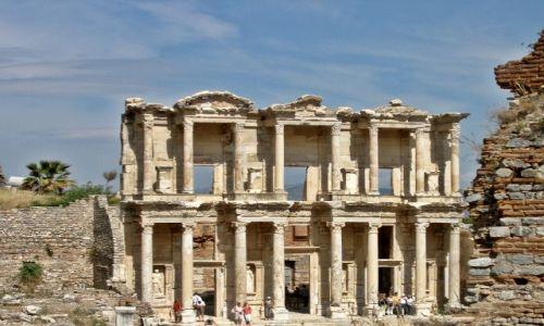 Zdjecie TURCJA / - / Efez / Biblioteka Celsusa
