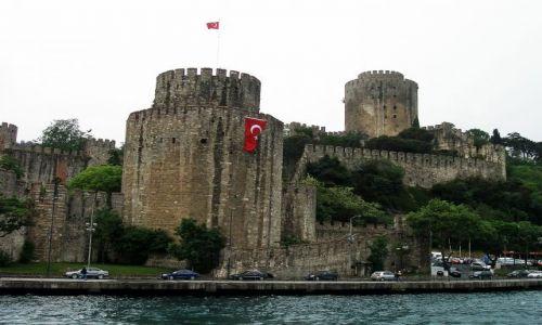 Zdjęcie TURCJA / Istambuł / Bosfor / Twierdza Europa
