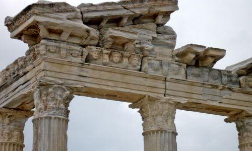 Zdjecie TURCJA / Riwiera Turecka / Side / Świątynia Apollina