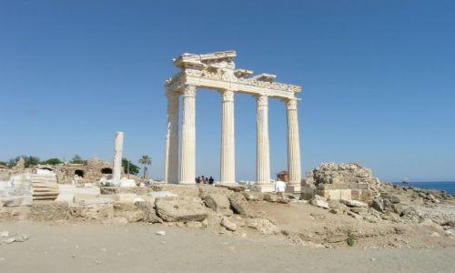 Zdjęcie TURCJA / Riwiera Turecka / Side / Świątynia Apollina